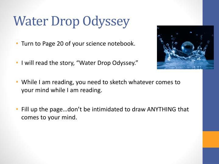 Water Drop Odyssey