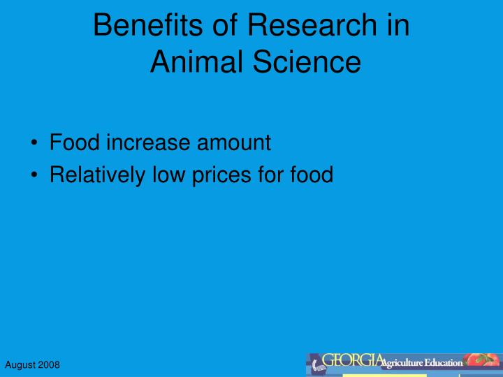 Benefits of Research in