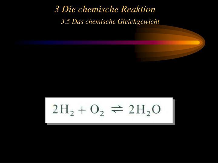 3 Die chemische Reaktion