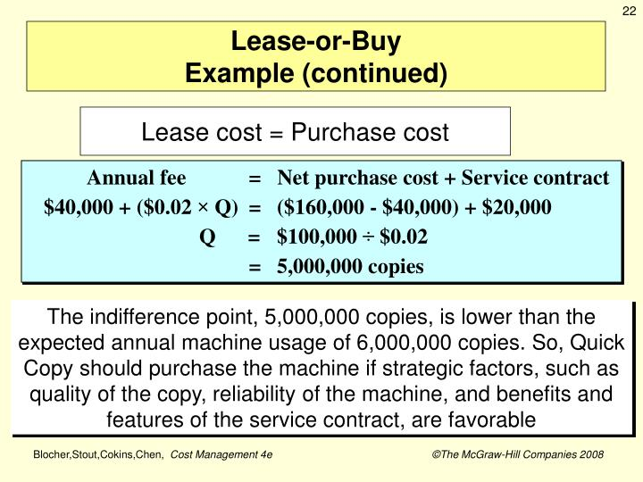 Lease-or-Buy