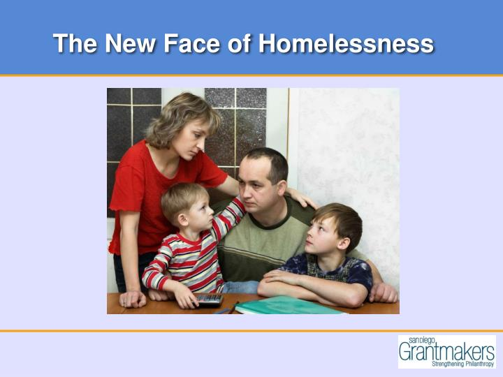 The New Face of Homelessness