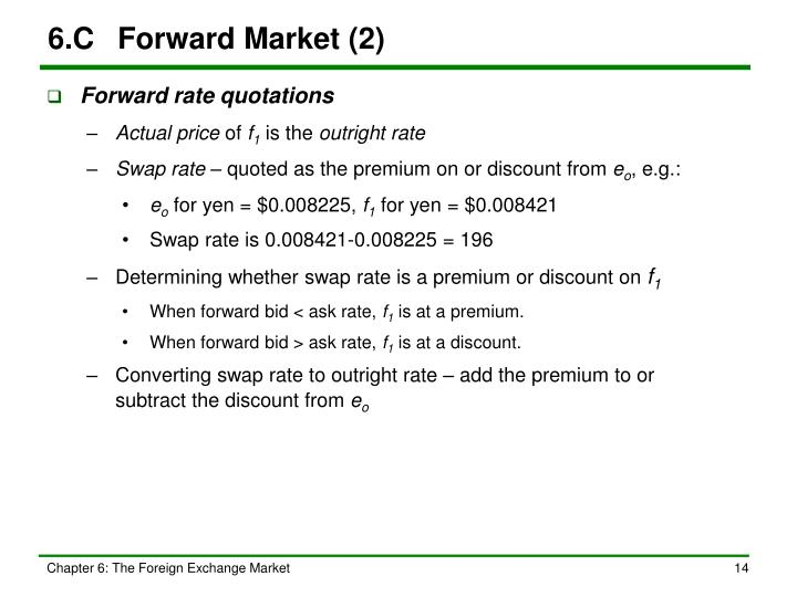 6.C	Forward Market (2)