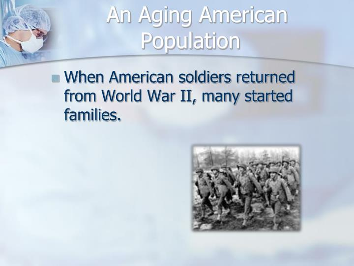 An Aging American Population