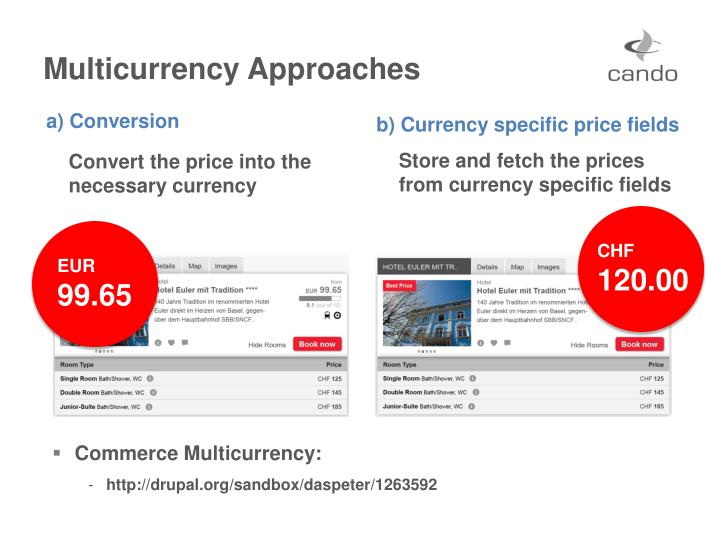 Multicurrency Approaches