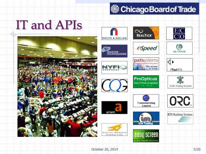 IT and APIs