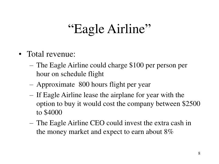 """Eagle Airline"""