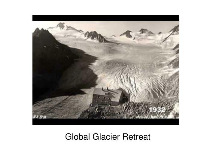 Global Glacier Retreat