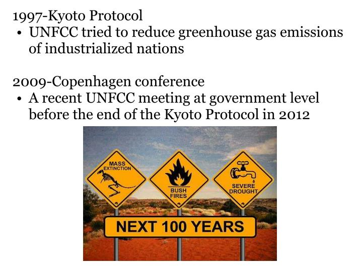 1997-Kyoto Protocol