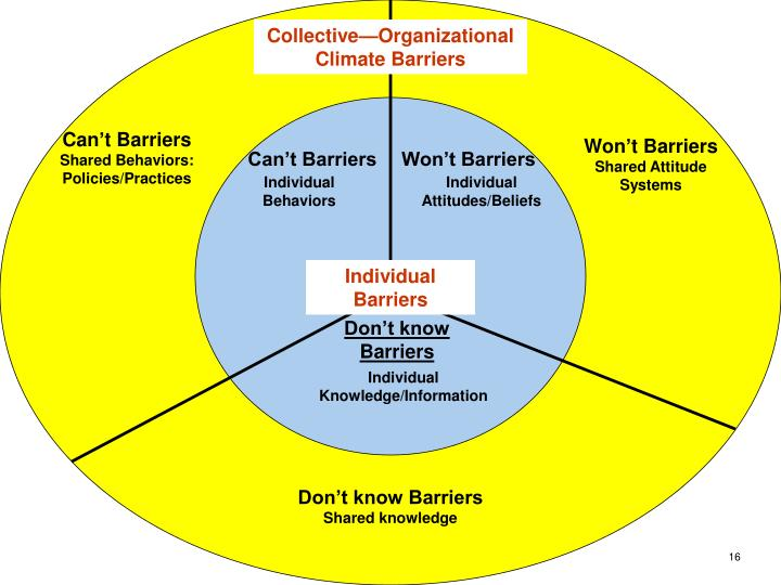 Collective—Organizational Climate Barriers