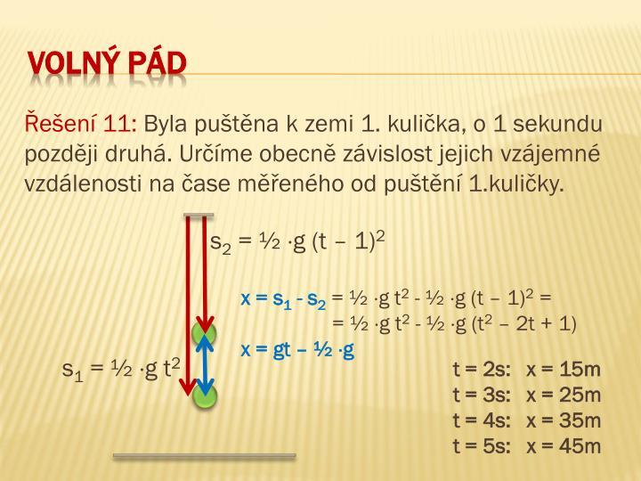Řešení 11:
