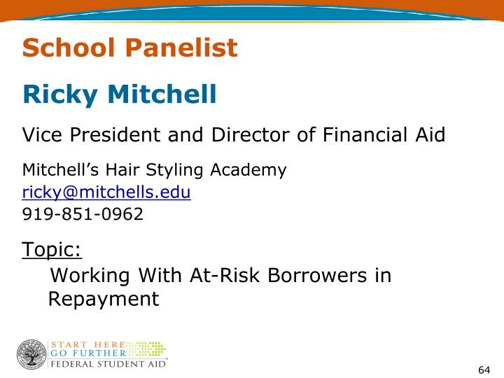 School Panelist