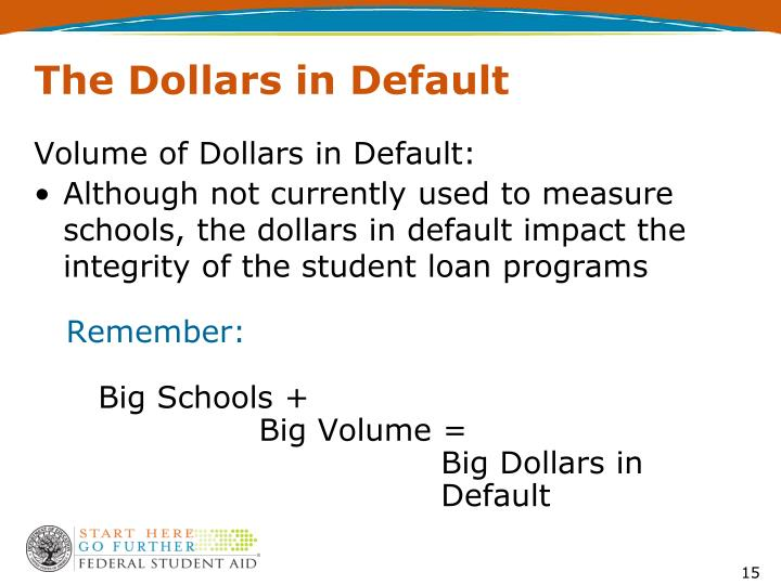The Dollars in Default