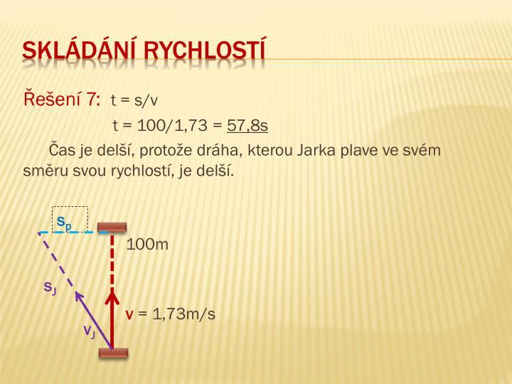 Řešení 7: