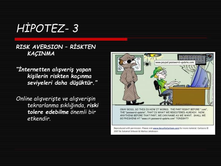 HİPOTEZ- 3