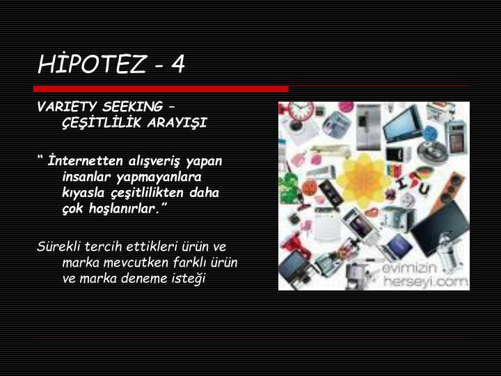 HİPOTEZ - 4