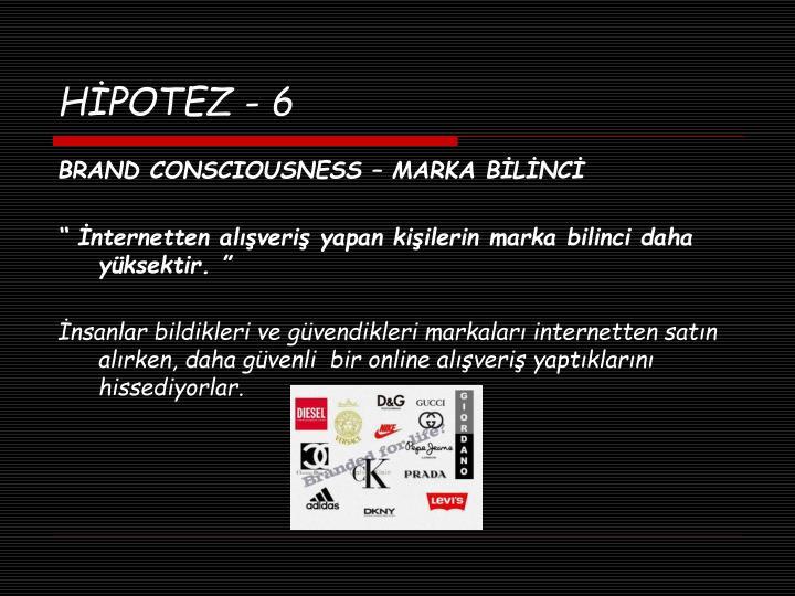 HİPOTEZ - 6