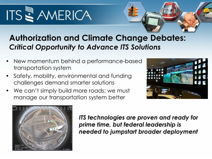 Authorization and Climate Change Debates:
