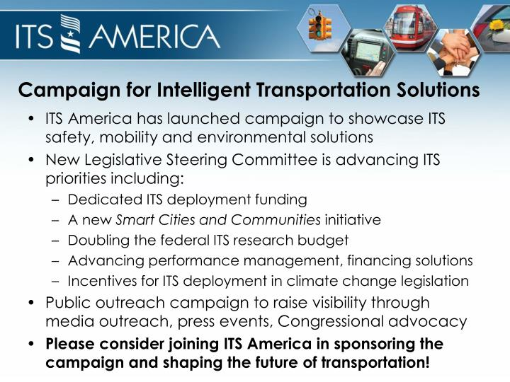 Campaign for Intelligent Transportation Solutions