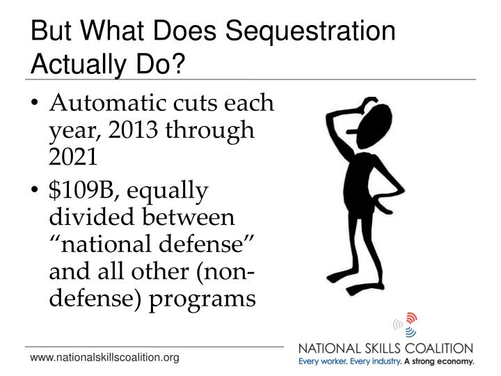 But What Does Sequestration Actually Do?