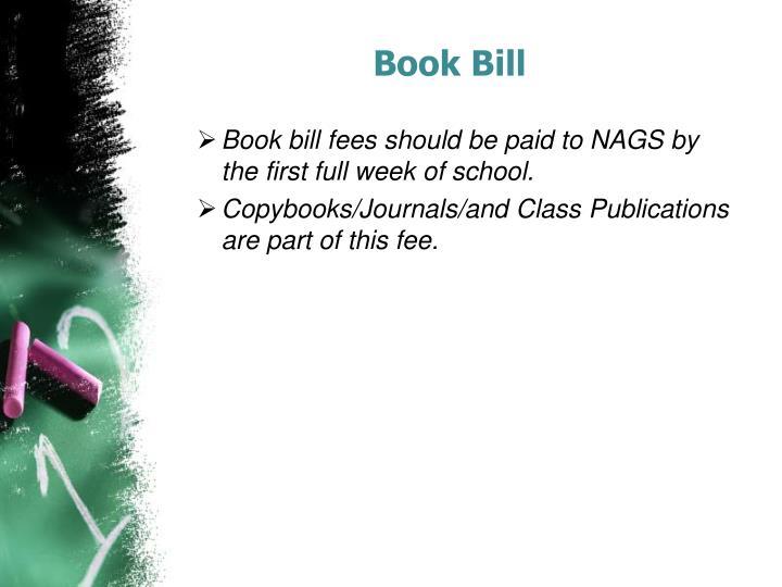 Book Bill