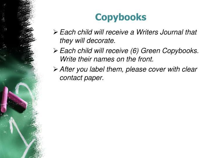 Copybooks
