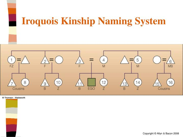 Iroquois Kinship Naming System