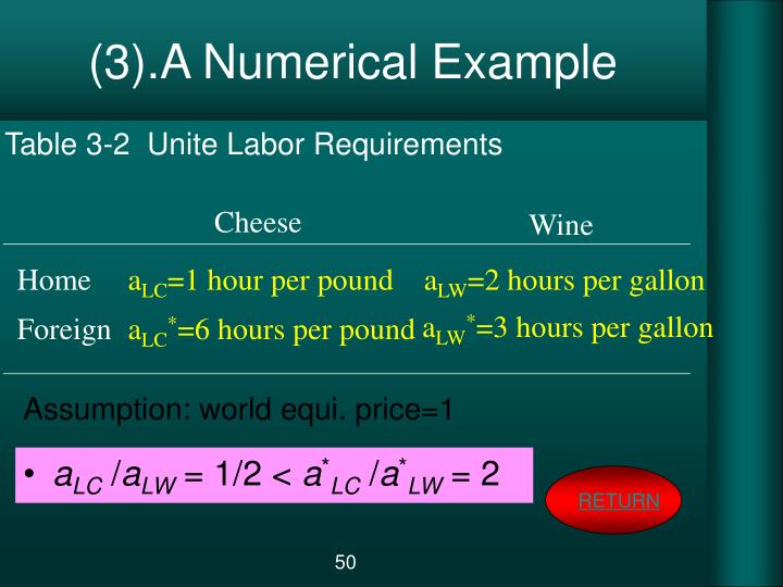 (3).A Numerical Example