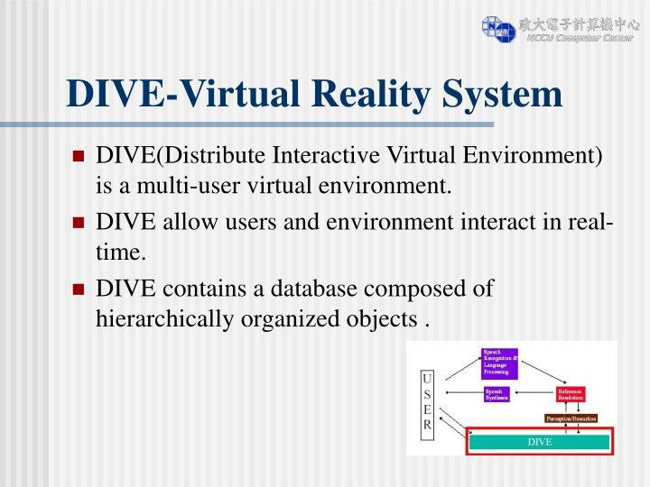 DIVE-Virtual Reality System