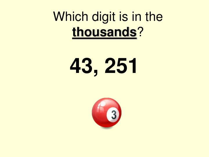 Which digit is in the