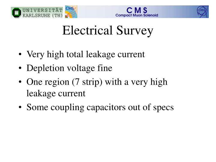Electrical Survey