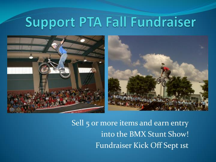 Support PTA Fall Fundraiser