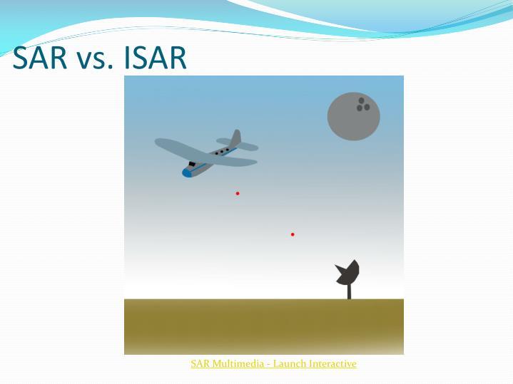 SAR vs. ISAR