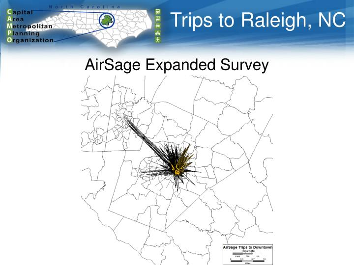 Trips to Raleigh, NC