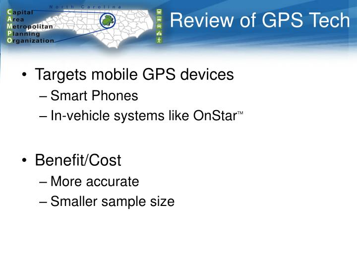 Review of GPS Tech