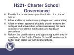 h221 charter school governance1