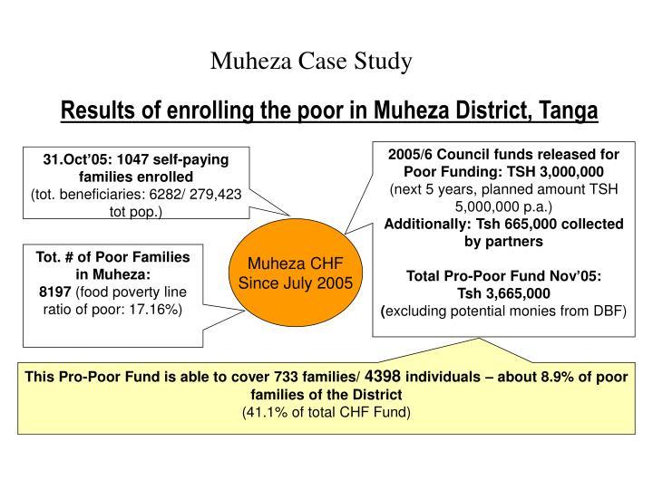 Muheza Case Study