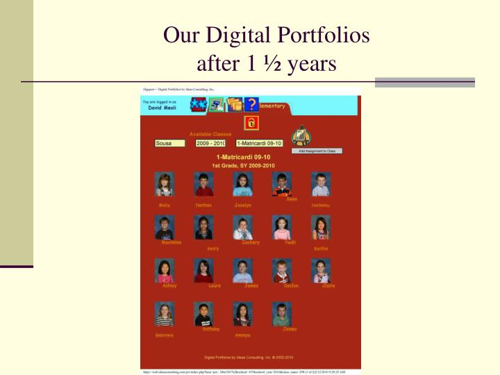 Our Digital Portfolios