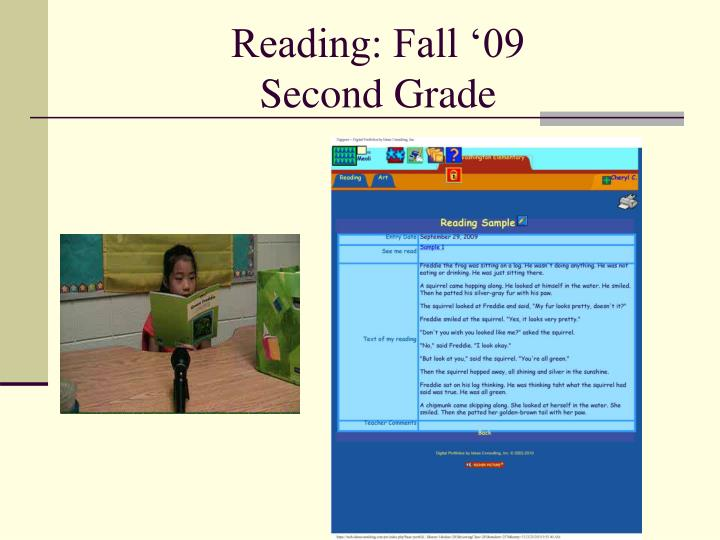 Reading: Fall '09
