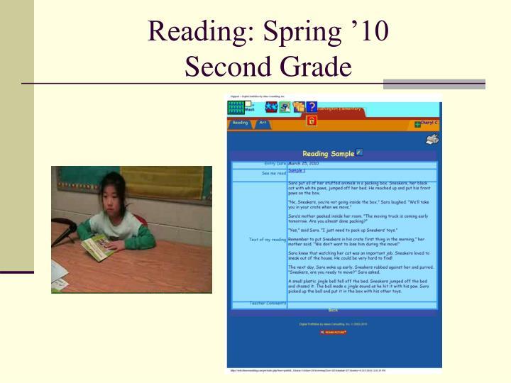 Reading: Spring '10