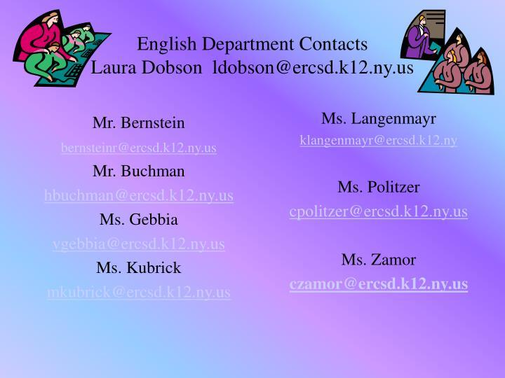 Ms. Langenmayr
