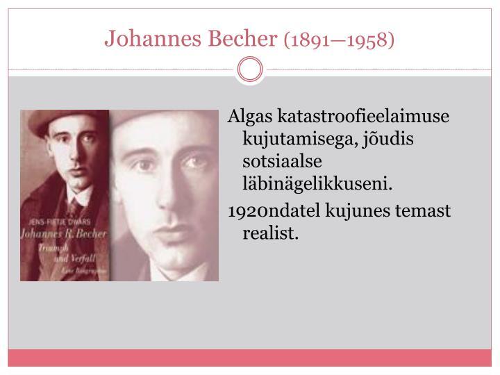 Johannes Becher