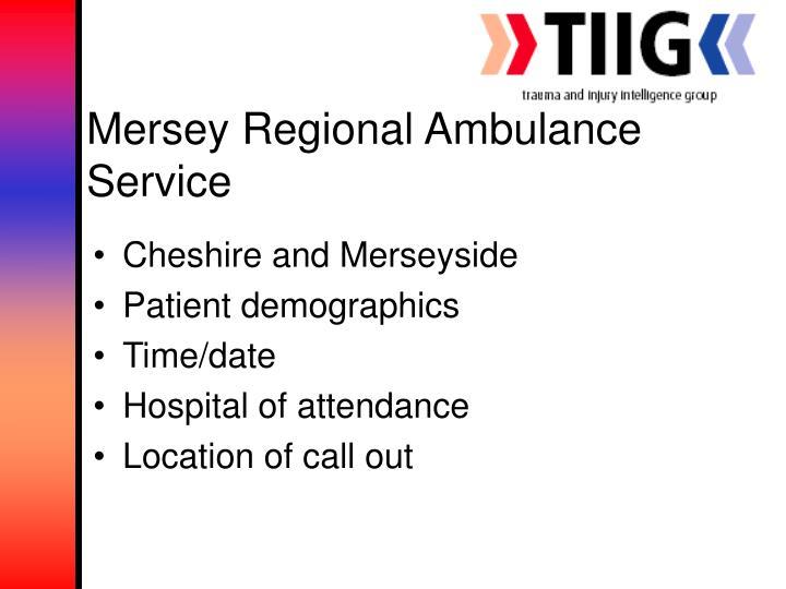 Mersey Regional Ambulance Service