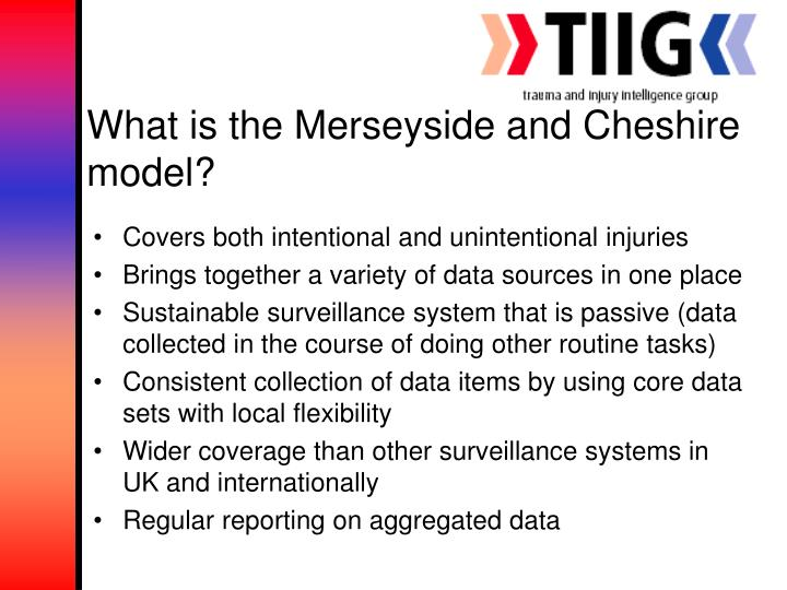 What is the Merseyside and Cheshire model?