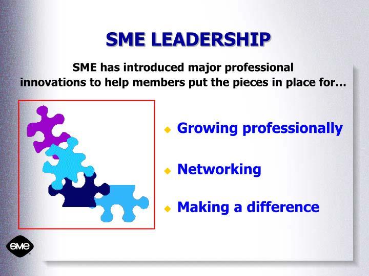 SME LEADERSHIP