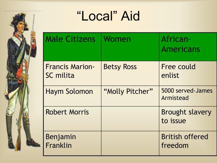 """Local"" Aid"