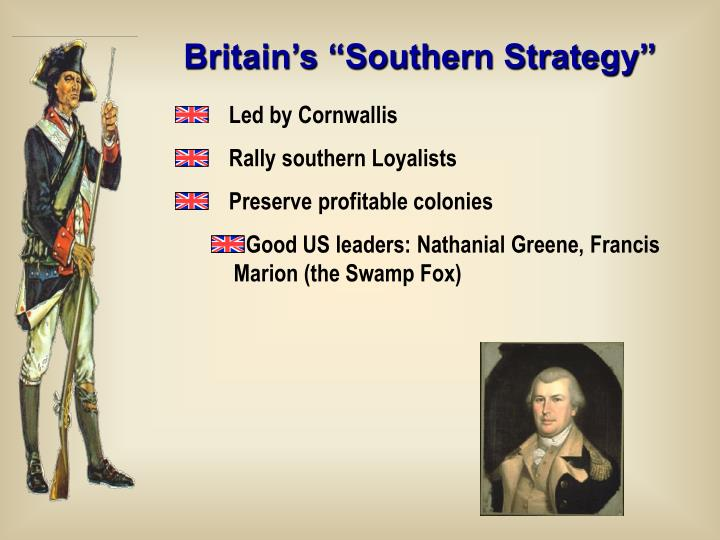 "Britain's ""Southern Strategy"""