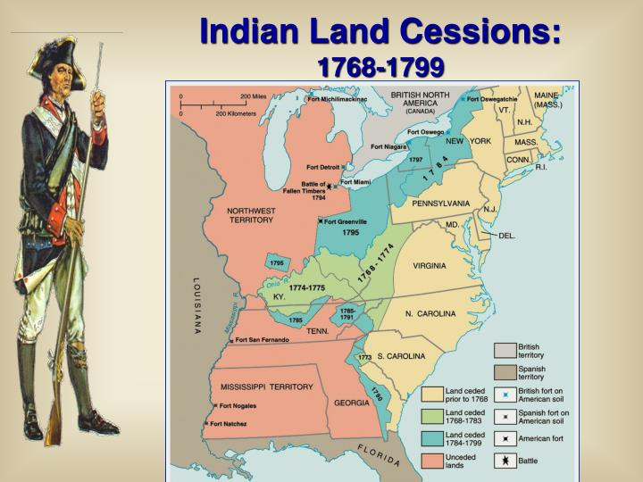 Indian Land Cessions: