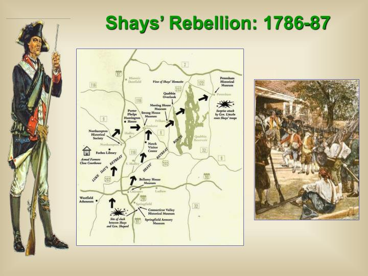 Shays' Rebellion: 1786-87