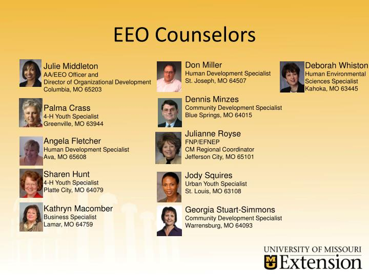 EEO Counselors