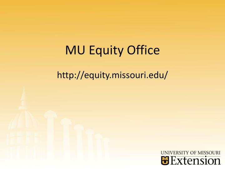 MU Equity Office